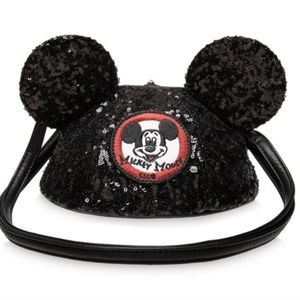 Disney Loungefly Mickey Mouse Club Ear Bag